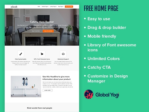 Free Home page