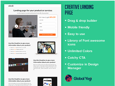 Alande Creative Landing Page
