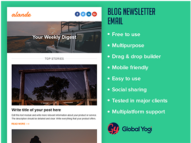 Blog Newsletter Email
