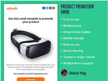 Product Promotion Email