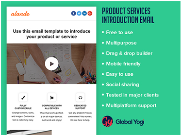 Product Services Introduction Email