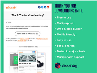 Thank you for downloading Email