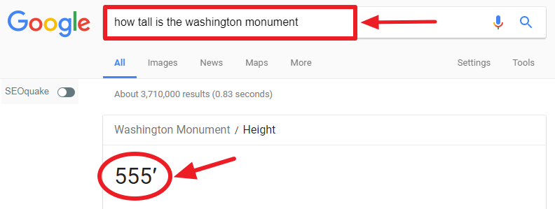 How Tall is The Washington Monument