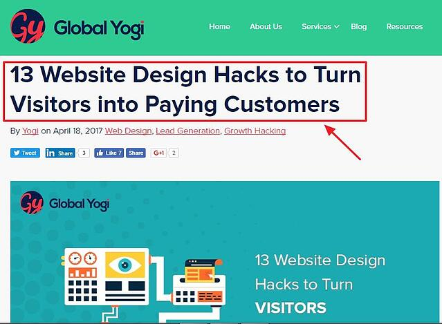 13 Website hacks to turn visitors into paying customers
