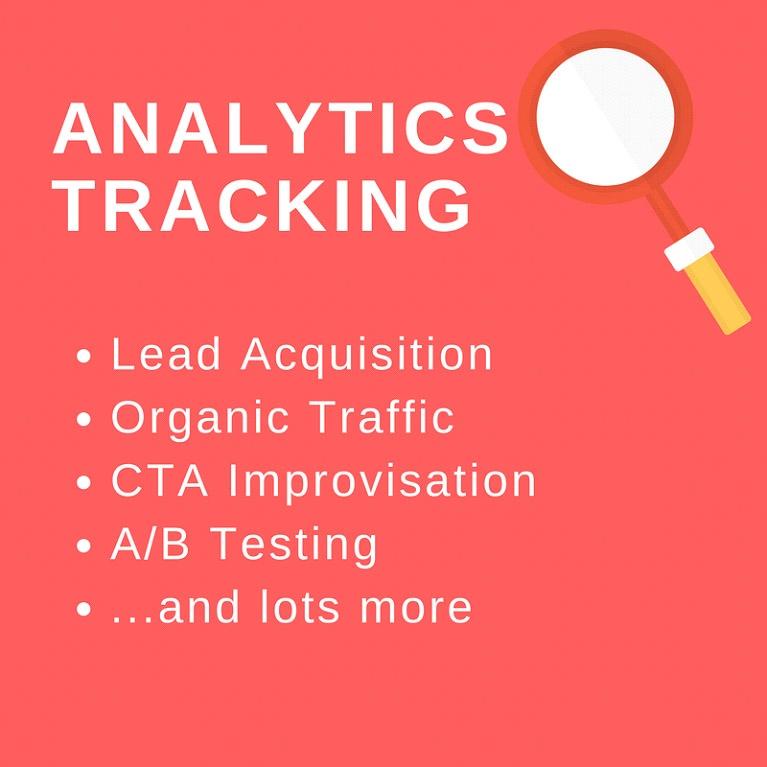 Analytics tracking tools