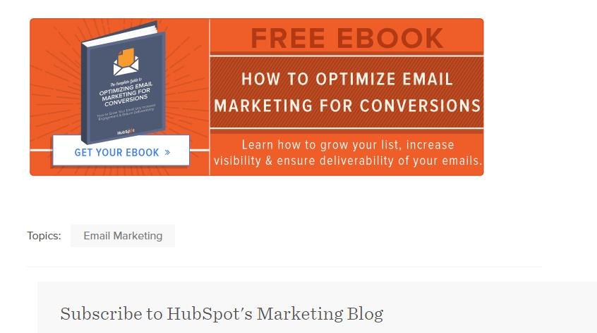 How to optimize email marketing for conversion