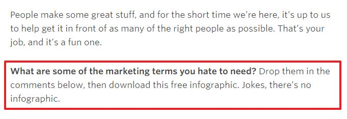 Some marketing terms you hate to need