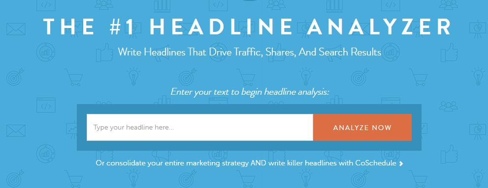 The headline Analyzer