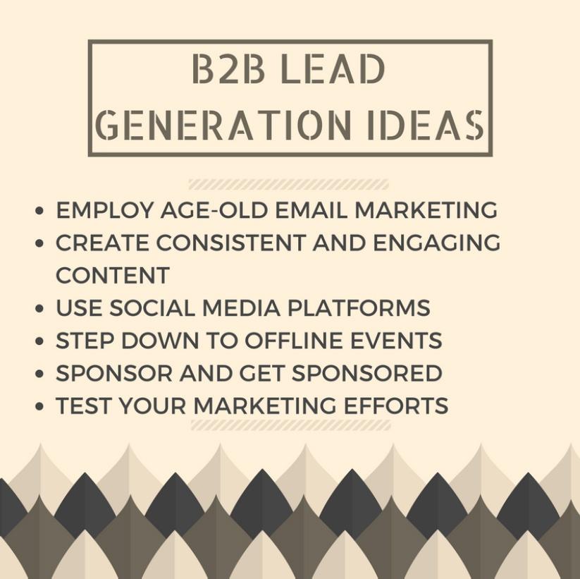 B2B Lead Genration Ideas