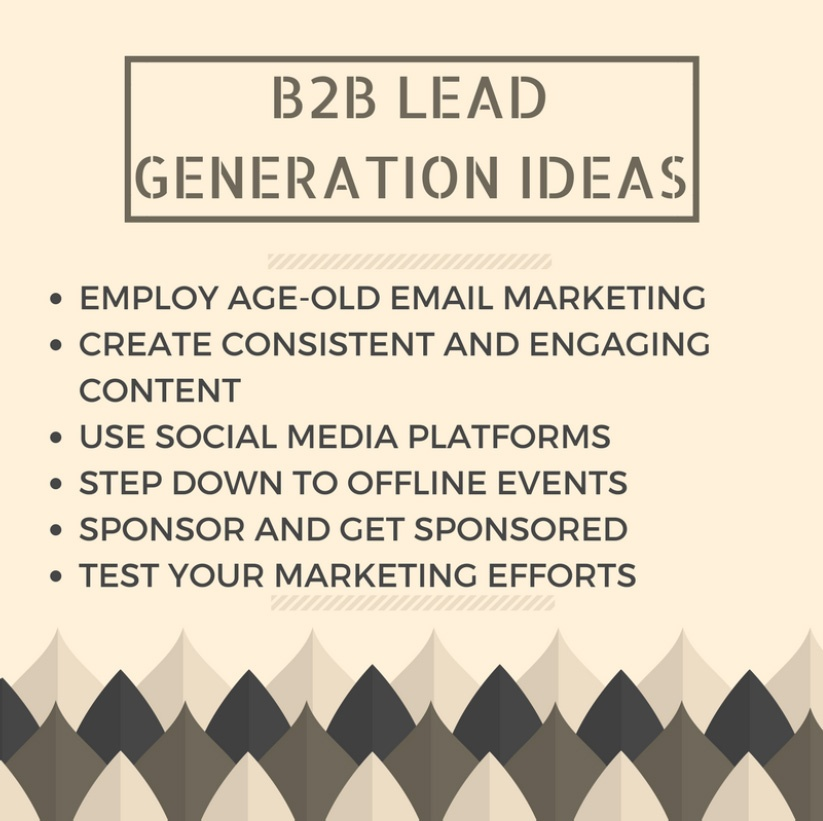 B2B Lead Genration Ideas