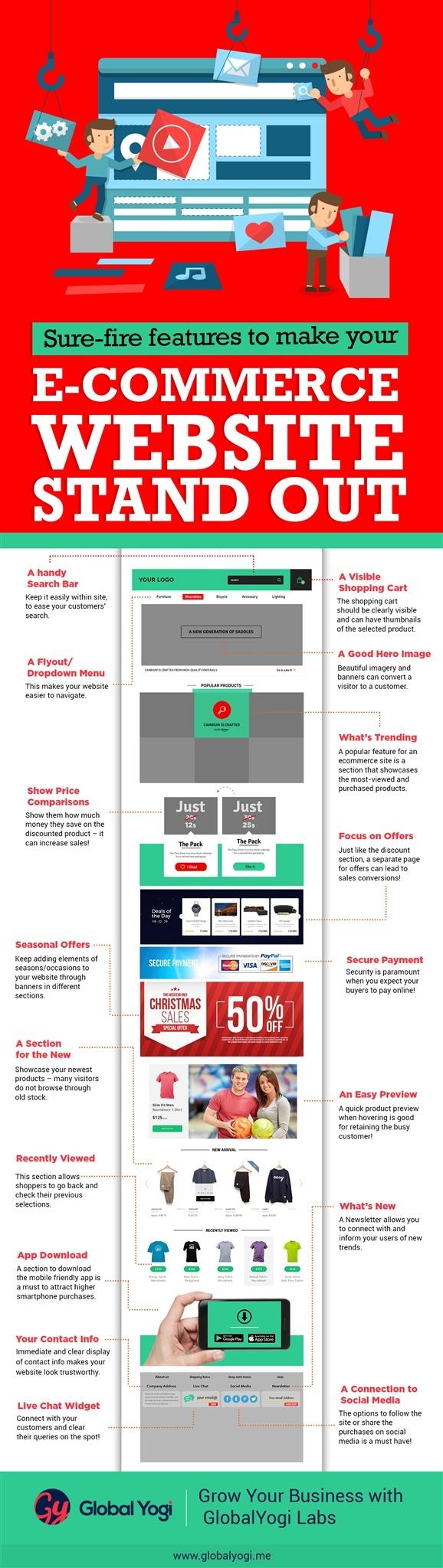 ECommerce Website Home Page Design